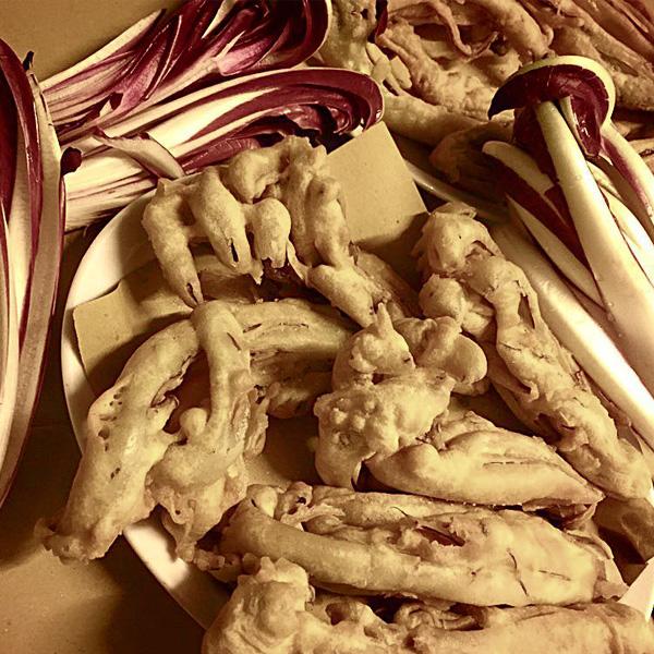 Verdure Pastellate dell'Osteria treviso Botegon